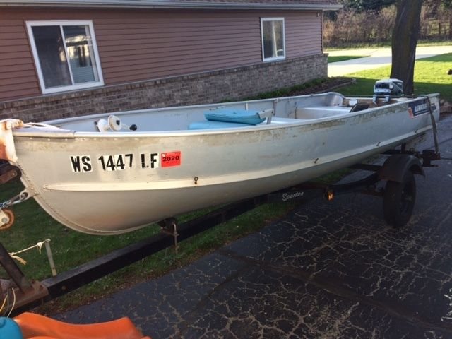 14 Fishing Boat With 99 Hp Outboard Motor