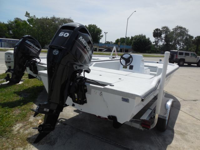 17' center console fishing boat with 60 hp Mercury 4-stroke