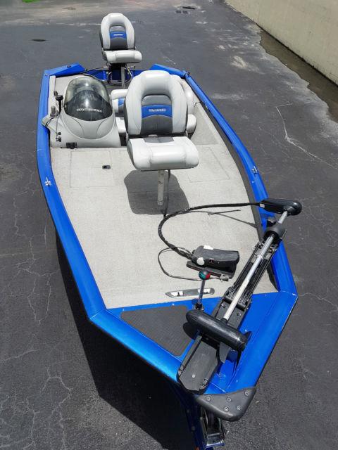 17ft bass tracker 175 proteam txw 50hp mercury export miami