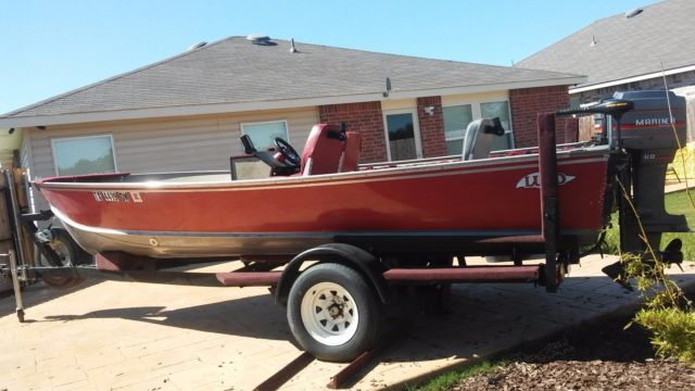 18 Lund Deep V Fishing Boat Lund 1989 For Sale