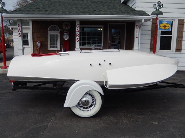 1946 46 Ford Flathead V8 60-hp Vintage Hydro * Trailer