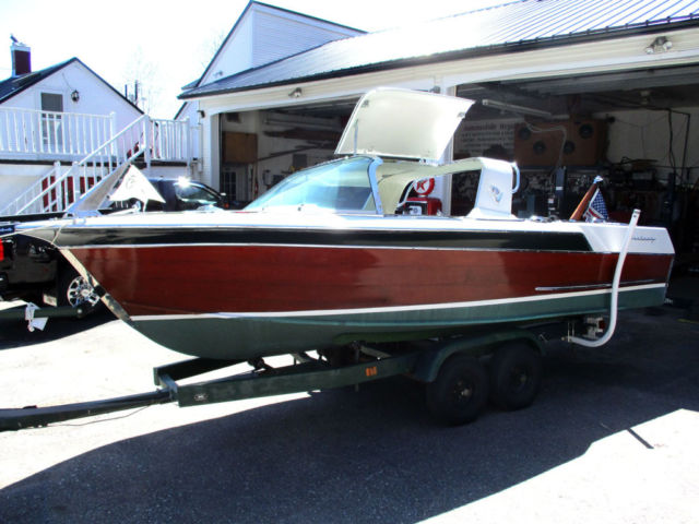 1964 18ft Century Sabre Open utility wooden runabout - Century Sabre 1964 for sale