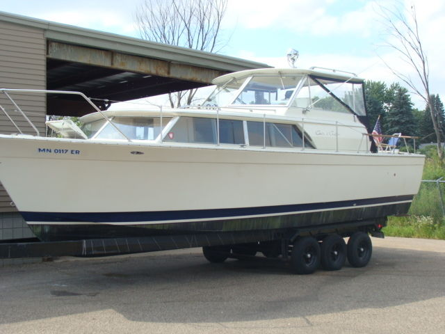 Foot Chris Craft Commander For Sale