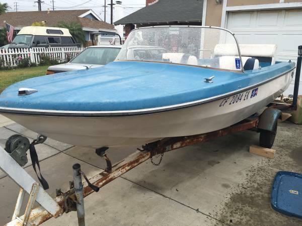 1969 glastron vintage speed boat - Glastron 1969 for sale