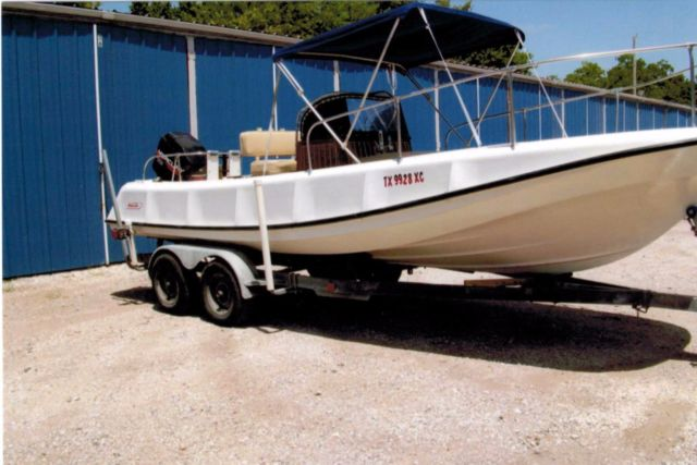 1971 boston whaler outrage 21 classic ribside 0071 - Boston Whaler