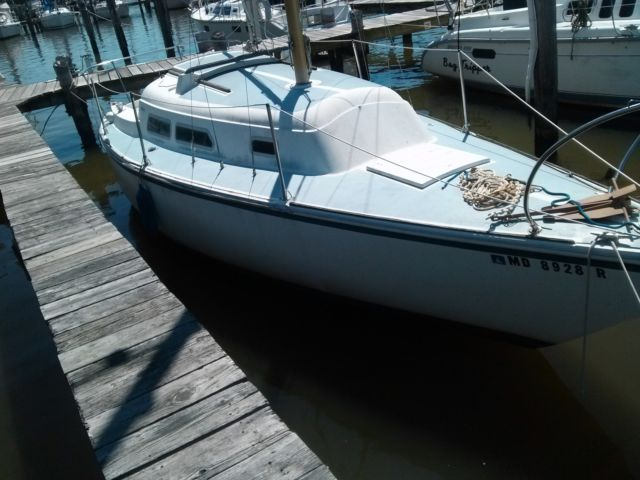 1973 27' O'Day Sailboat- Yanmar Diesel Engine - O'Day 27 1973 for sale