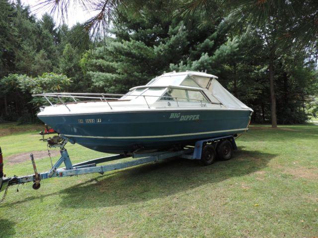 1976 SEA RAY HARD TOP OVERNIGHTER SRV220 - Sea Ray SRV220 1976 for sale