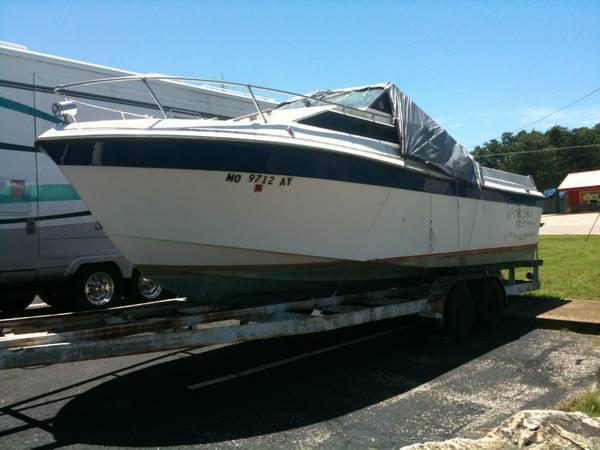 1978 XMP Boat 23' Cuddy Cabin w/Galvanized Tandem Axle
