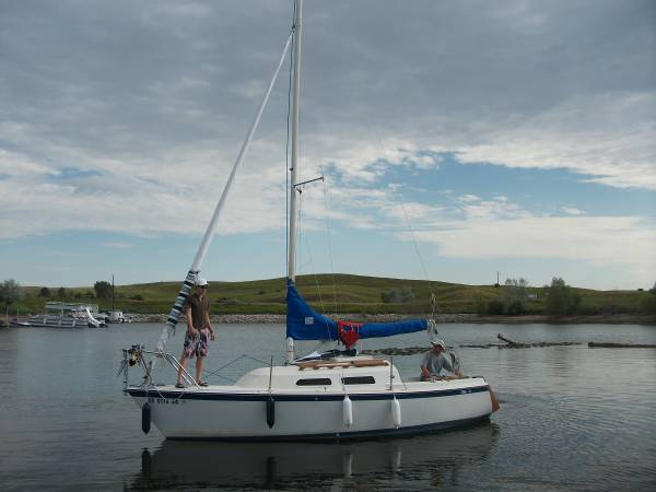 1980 O'Day 22' Fractional Rig Sailboat with Swing Keel - O'Day