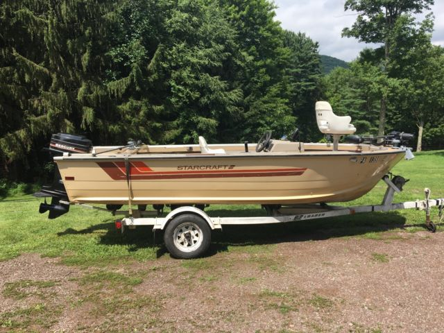 1985 starcraft boat starcraft 1985 for sale for 16 foot aluminum boat motor size