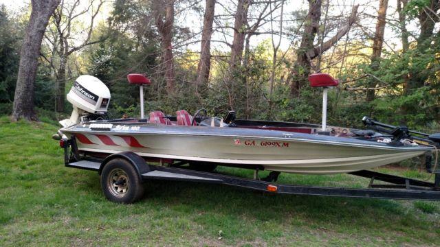 1985 winyah 18 foot bass boat 150 hp johnson motor graphs for Trolling motor for 18 foot boat