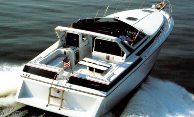 1987 Chris Craft Amerosport 412 w/ twin CAT Diesels and