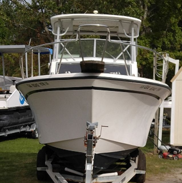 1987 Grady White 252 Sailfish 25ft - Grady White Sailfish 1987 for sale