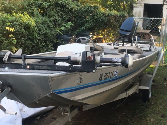 1988 16 39 aluminum landau bass boat landau 1988 for sale for Best aluminum fishing boat for the money