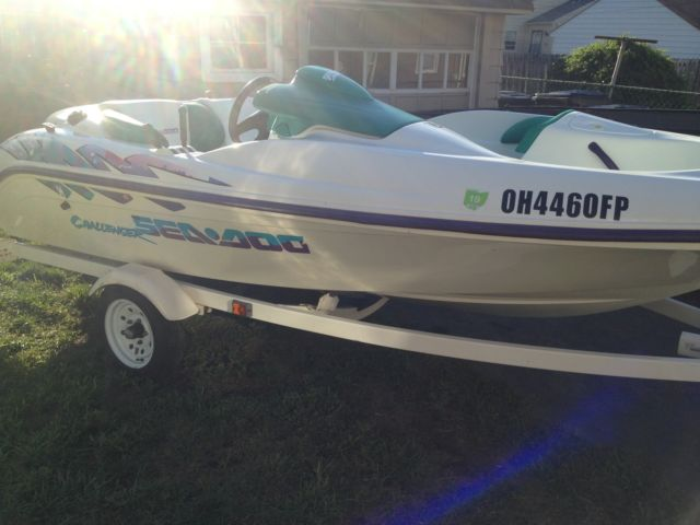Sold 1996 Sea Doo Challenger Jet Boat 787 800 Rotax Engine
