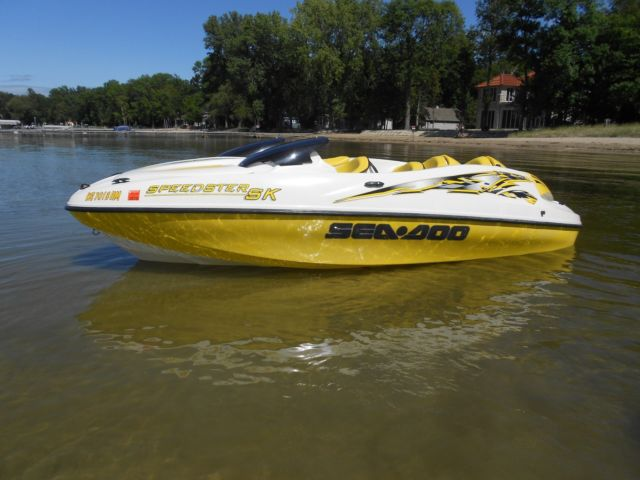 2624 1999 Sea Doo Speedster Sk 16 Jetboat Twin Engine 170hp Trailer No Reserve on new ski doo engines