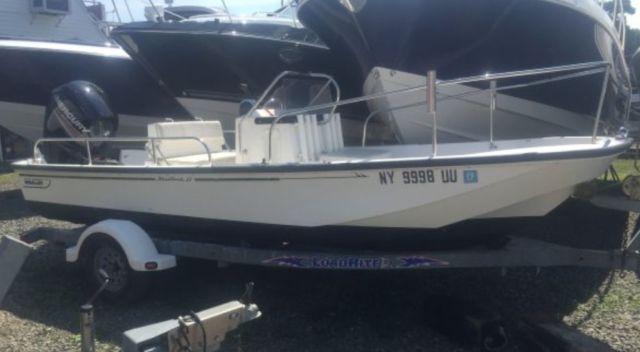 2000 Boston Whaler 17 Montauk w/ Brand New 90 HP Mercury 4 Stroke