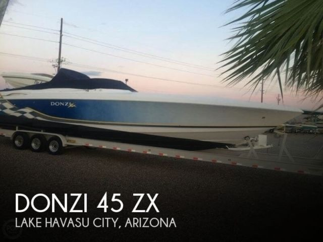2001 Donzi 45 ZX Used - Donzi 45 ZX 2001 for sale