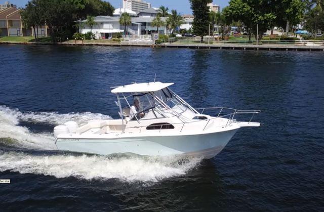 2001 grady white 282 sailfish walk around 250 hour motors plus 3