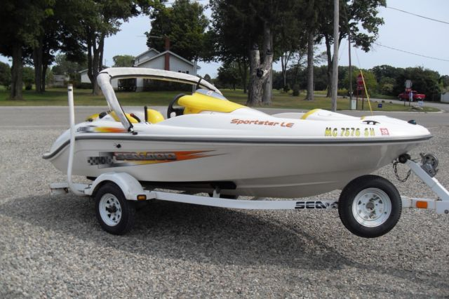 2002 Sea Doo Sportster LE Jet Boat NEW 951cc Motor Comes WITH