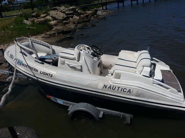 2005 Nautica 12 Jet Rib Inflatable Boat Yamaha 701 Hard Bottom
