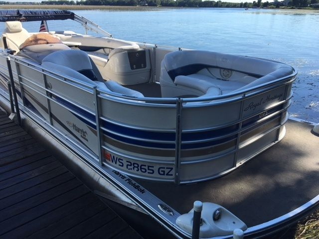 2006 Harris Flotebote Royal Heritage 230 Pontoon Boat ...