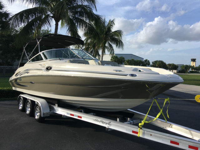 2006 Sea Ray 270 Sundeck 6 2 Mercruiser Serviced Detailed Covers