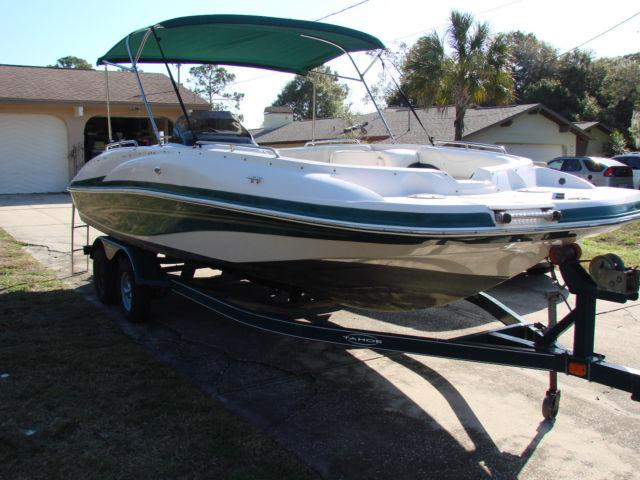 2006 tahoe tracker 215 deck boat tahoe 215 2006 for sale. Black Bedroom Furniture Sets. Home Design Ideas