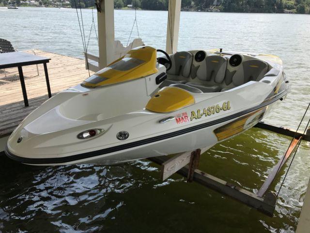 2007 Seadoo Speedster 150 Jet Boat w/ 215hp Rotax Engine