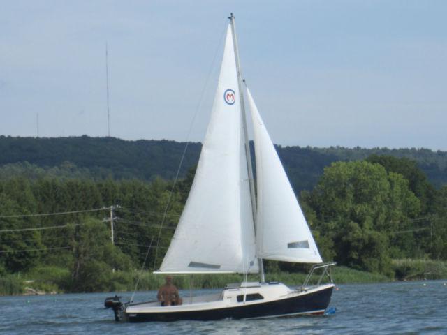 2008 mariner centerboard 19 sailboat by stuart marine - STUART