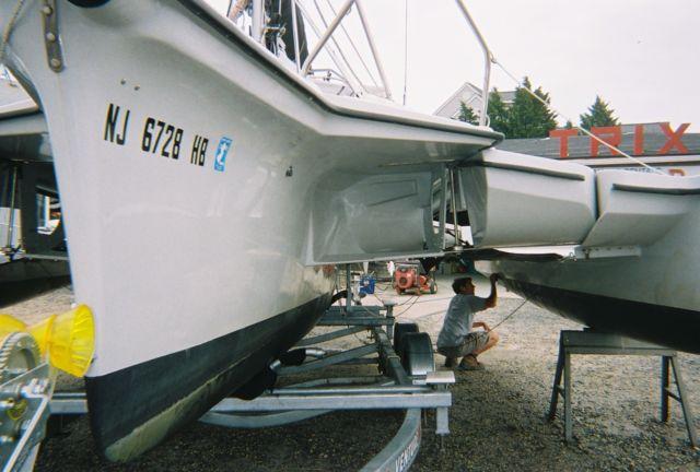 2008 Telestar 28' Performance Cruising Trimaran Sail Boat - Telestar
