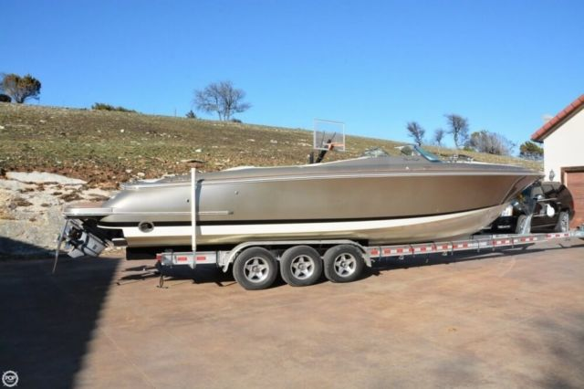 2014 chris craft launch 32 heritage edition used - Chris