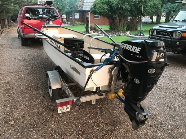 2015 Towee Calusa w/ 25 hp E-Tec - 995 (Cascade, MT) - Towee Boats