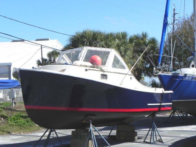 22' SISU 1982 Pocket Trawler Lobster or Bass boat 4 NEW PHOTOS - SISU 1982 for sale