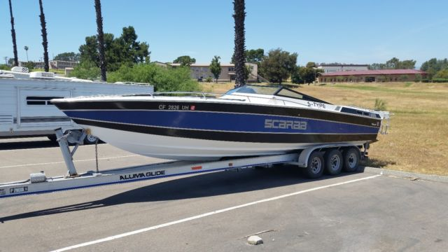 30ft 1982 Wellcraft Scarab S Type Twin 454s
