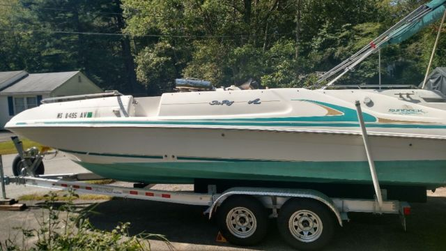 97 Sea Ray sundeck 240 - Sea Ray 1997 for sale
