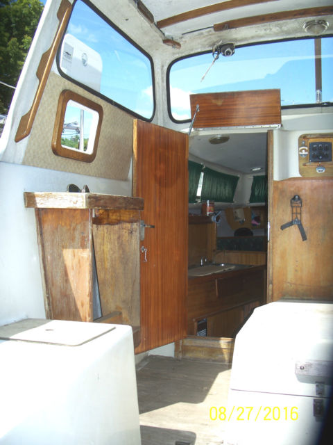 albin 25 deluxe trawler ideal pocket cruiser trailerable