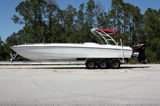 Chris Craft 311 Stinger w/ Twin 250hp EFI Optimax's RUNS