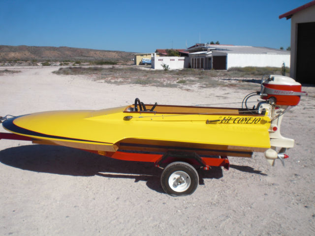 clark craft hydroplane new build new trailer with vintage ...