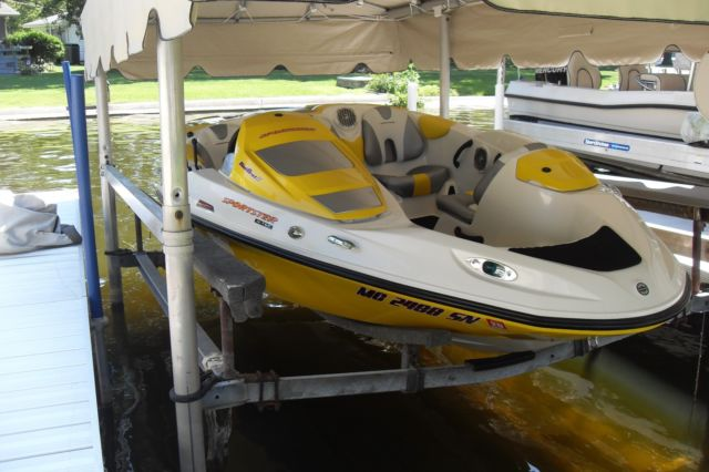 CLEAN Sea Doo Sportster WITH Trailer Cover AND Ski Tower LOW HOURS