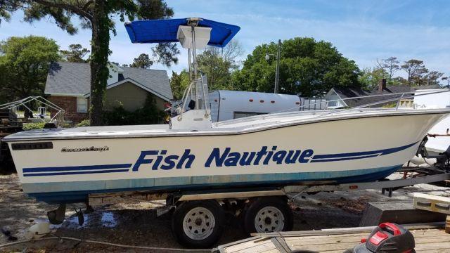 Ski Nautique For Sale >> Correct Craft Fish Nautique 23 Foot Center Console Inboard ...