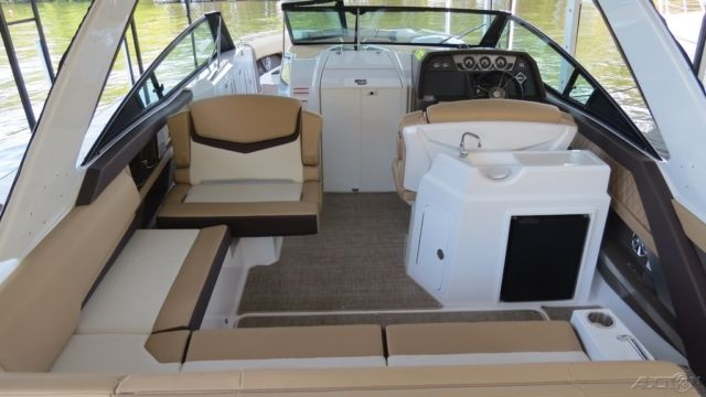 Like New 2015 33ft Open Bow With Mid Cabin Bowrider