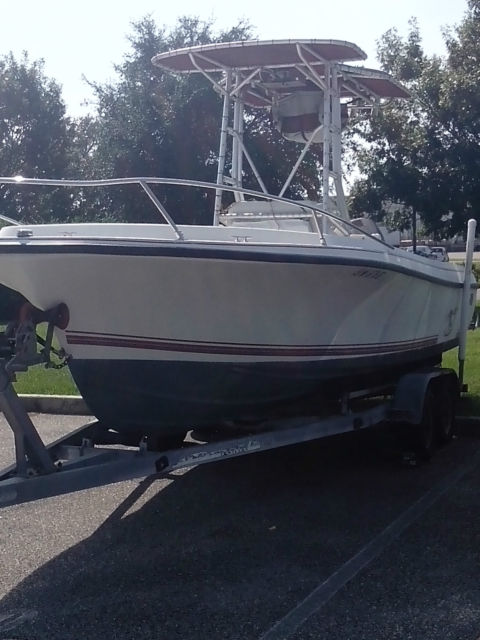 Open Fisherman Boat Center Console Offshore Outboard