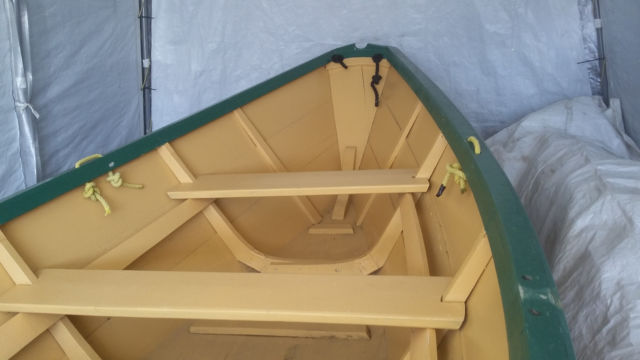 Shelbourne dory, hand made wooden boat - for sale
