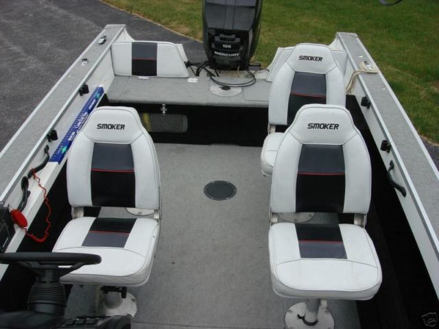 Smokercraft 1994 aluminum 18 ft pro mag fishing boat for Smoker craft pro mag