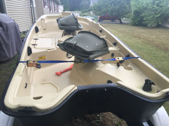 "Used Cars For Sale In Nj >> Sun Dolphin Pro 10.2 Two Seat 10'2"" Fishing Boat with Sealion Trailer - Sun Dolphin 2015 for sale"