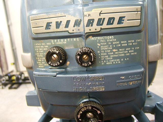 Vintage 13 ft Wood Boat Biltrite Denver CO Evinrude 15 hp