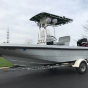 Boston Whaler 22 Guardian Commercial Red Dot Hull Twin 115